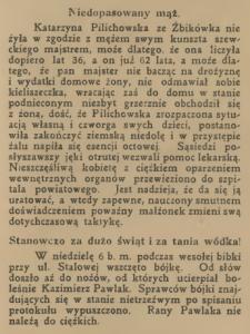 Niedopasowany mąż. 20.05.1923 / mbc.cyfrowemazowsze.pl