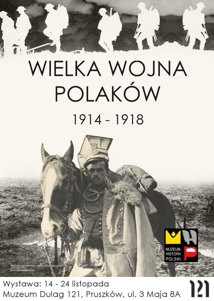 Wielka wojna - plakat wystawy