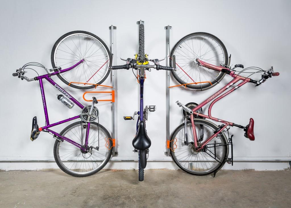 Wieszak ścienny na rower Twist i BikeUP