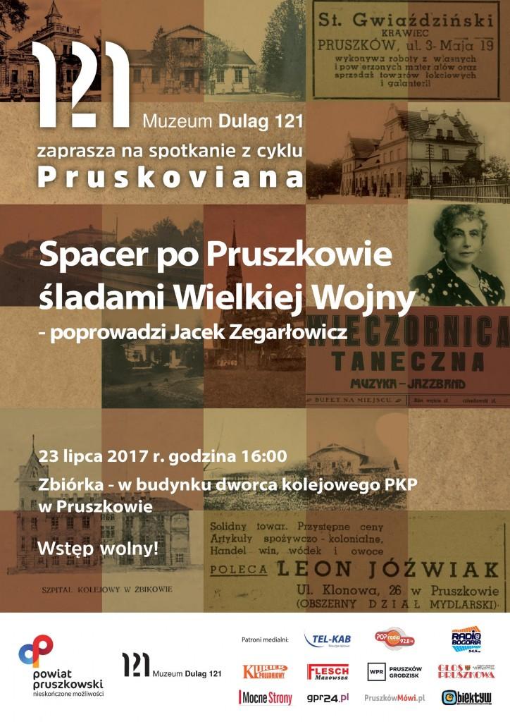 plakat spacer po Pruszkowie I wojna-page-001