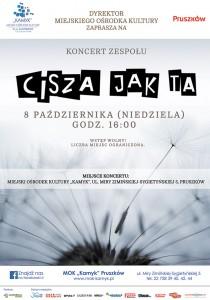 źródło: http://www.pruszkow.pl/dla-mieszkancow/kultura/wydarzenia/koncert-zespolu-cisza-jak-ta