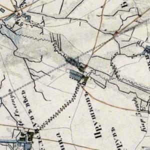 Dawny Pruszków na mapach