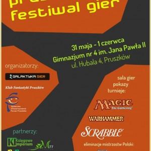 Pierwszy Pruszkowski Festiwal Gier