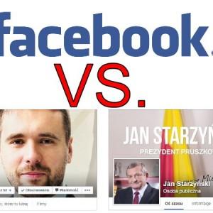 Walka o głosy na Facebooku