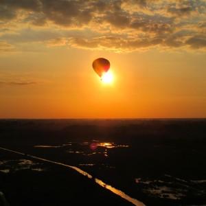 Panorama Pruszkowa z perspektywy balonu cz. 2