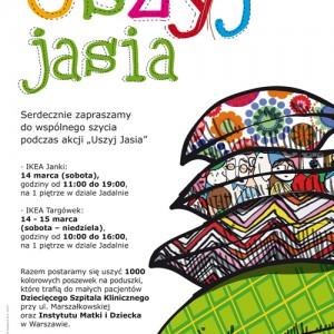 """Już jutro akcja """"Uszyj Jasia"""" dla małych pacjentów!"""