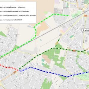 Przetarg na projekt ścieżek rowerowych na obszarze Podwarszawskiego Trójmiasta Ogrodów
