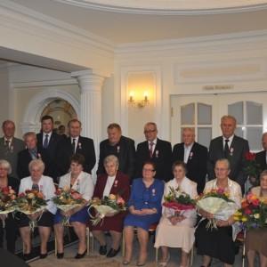 Medale dla małżeństw z okazji 50. rocznicy ślubu