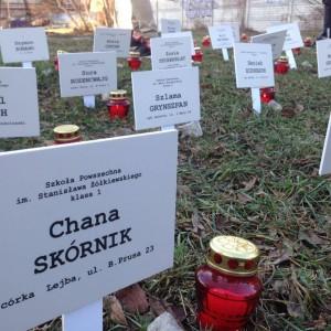 """""""Sprawdzanie obecności"""" – relacja z uroczystości z okazji 75 rocznicy likwidacji getta w Pruszkowie"""
