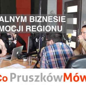 """O lokalnym biznesie i promowaniu regionu – Audycja """"Co Pruszków Mówi"""" w POPRadiu"""