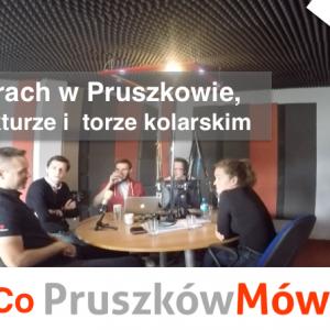 """O rowerach w Pruszkowie, infrastrukturze rowerowej i torze kolarskim – Audycja """"Co Pruszków Mówi"""""""