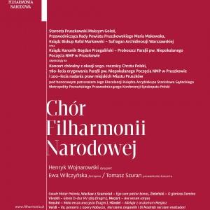 Koncert Chóru Filharmonii Narodowej w Pruszkowie