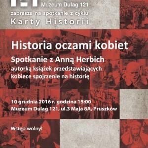 """""""Historia oczami kobiet"""" – spotkanie z cyklu KARTY HISTORII"""