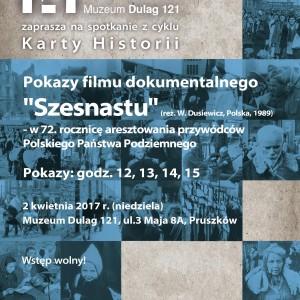 """Pokazy filmu dokumentalnego """"Szesnastu"""" – w 72. rocznicę aresztowania przywódców Polskiego Państwa Podziemnego"""