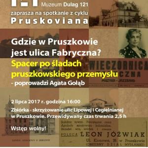 Gdzie w Pruszkowie jest ulica Fabryczna? Spacer po śladach pruszkowskiego przemysłu