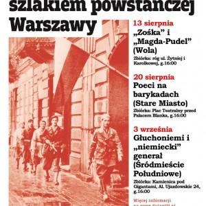 """3.09 – Trzeci spacer z cyklu """"Niedzielne wyprawy szlakiem powstańczej Warszawy""""- Muzeum Dulag 121"""