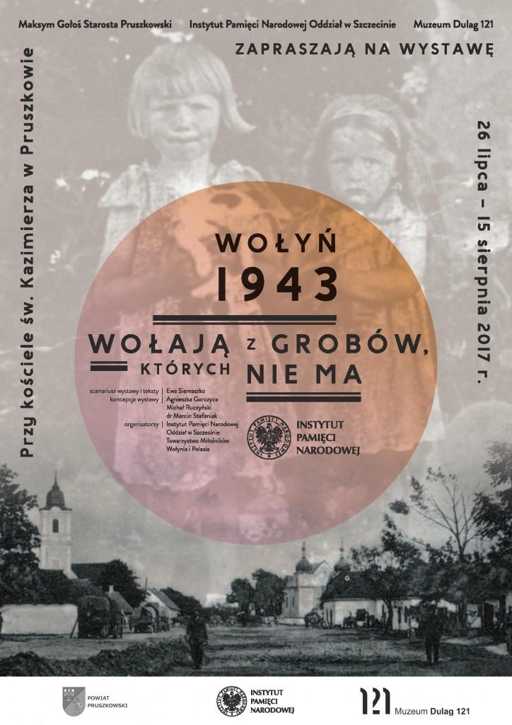 plakat wystawa wołyń