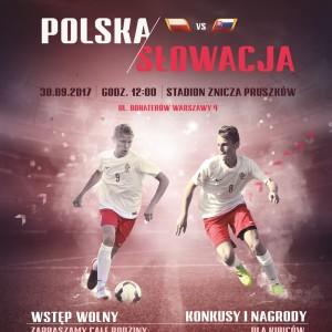 Międzypaństwowy mecz chłopców Polska – Słowacja