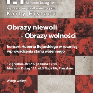 Obrazy niewoli – obrazy wolności – koncert w ramach cyklu Karty historii w Muzeum Dulag 121