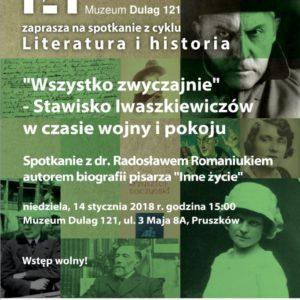 """""""Wszystko zwyczajnie"""" – Stawisko Iwaszkiewiczów w czasie wojny i pokoju"""